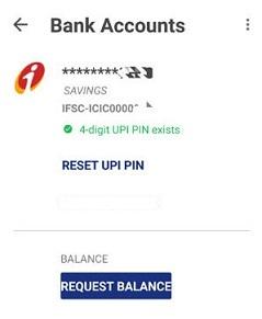 reset UPI pin