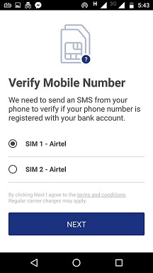 mobile no verify