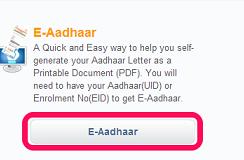 E-Aadhar