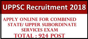उत्तर प्रदेश (UPPSC) वन विभाग भर्ती 2018/ ऑनलाइन आवेदन/ ऐप्लीकेशन फॉर्म