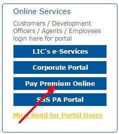 pay premium online