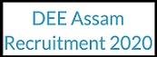 असम DEE अध्यापक भर्ती 2020 | पोस्ट 9635 | ऑनलाइन आवेदन| एप्लीकेशन फॉर्म