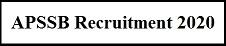 अरुणाचल प्रदेश APSSB भर्ती 2020 | पोस्ट 944 | ऑनलाइन आवेदन| एप्लीकेशन फॉर्म