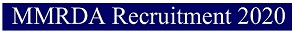 मुंबई MMRDA भर्ती 2020 | पोस्ट 215 | ऑनलाइन आवेदन | एप्लीकेशन फॉर्म